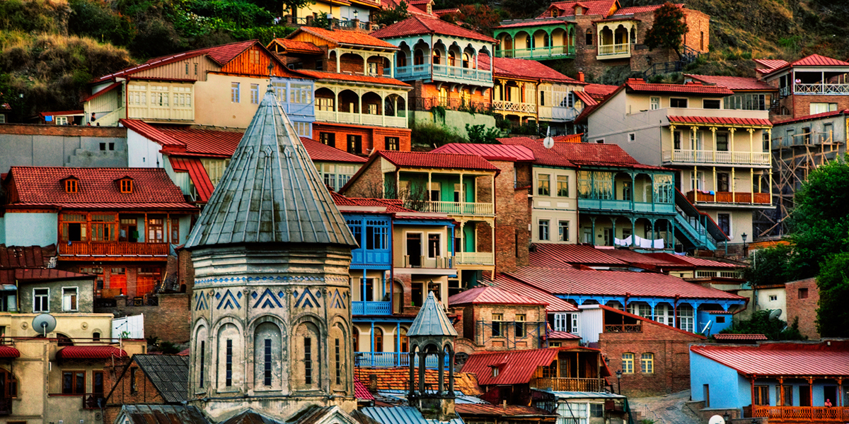 visiting Tbilisi Old Town is one of the top things to do in Georgia