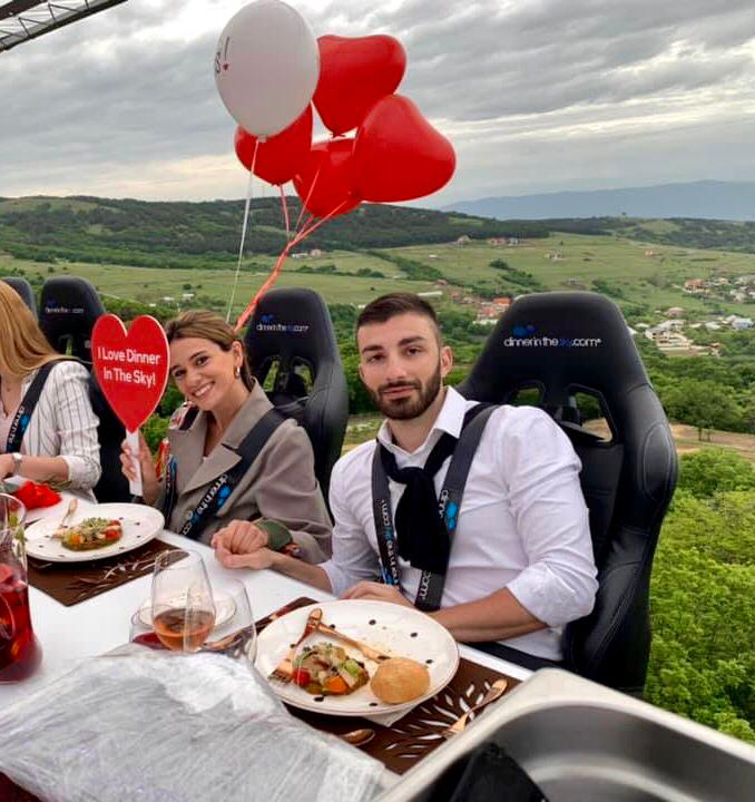 wedding trends 2020 with Dinner in the Sky Georgia